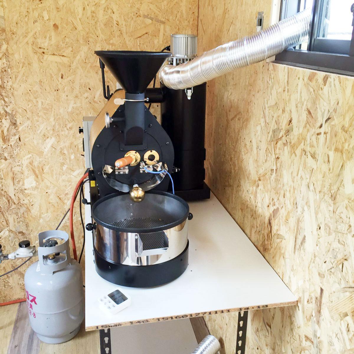 宮城県亘理郡にアポロ焙煎機を設置しました。