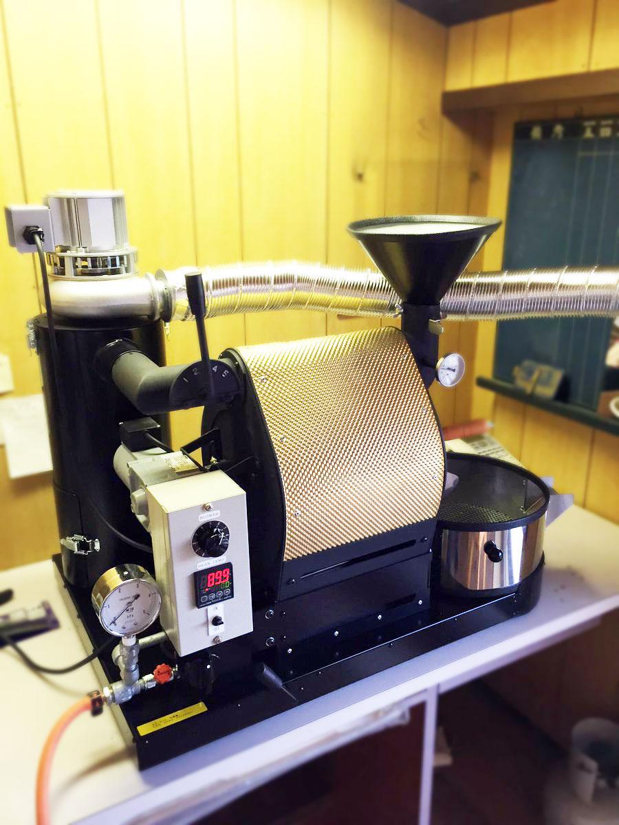 福岡県福津市にナナハン焙煎機を設置しました。